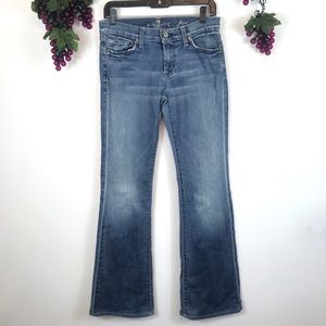 7 For All Mankind Flare Women's Medium Wash Jeans